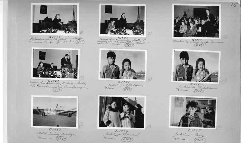 Mission Photograph Album - Alaska #2 page 0015