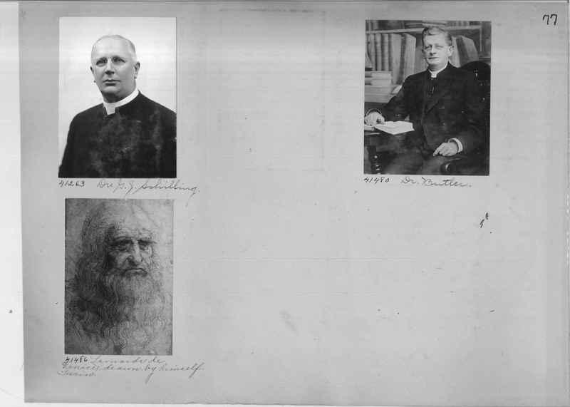 Mission Photograph Album - Portraits #2 page 0077