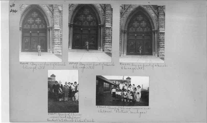 Mission Photograph Album - Cities #15 page 0218