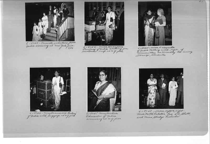 Mission Photograph Album - Portraits #13 Page 0061