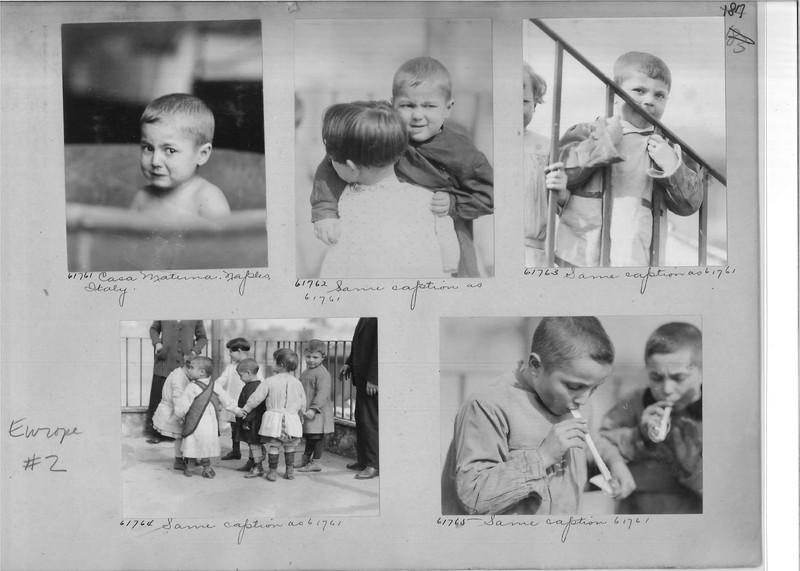 Mission Photograph Album - Europe #04 Page 0187