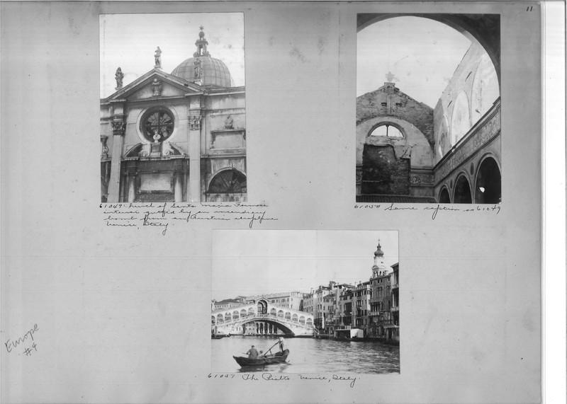 Mission Photograph Album - Europe #04 Page 0011