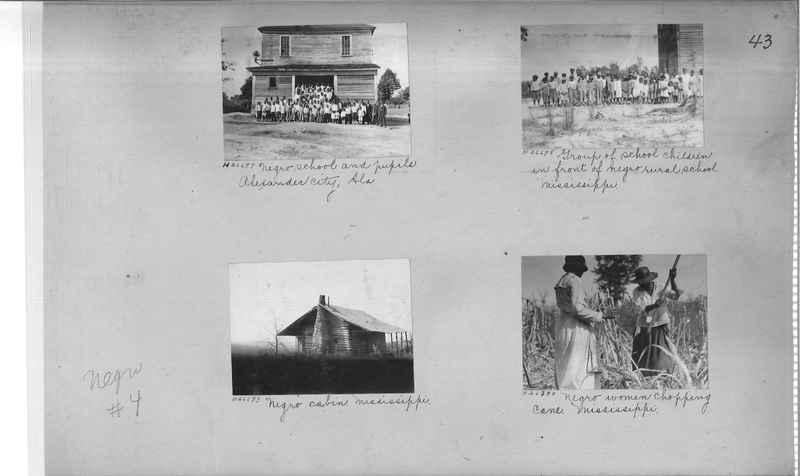 Mission Photograph Album - Negro #4 page 0043