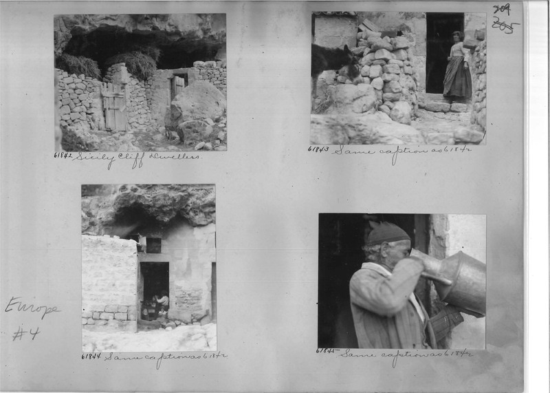 Mission Photograph Album - Europe #04 Page 0209