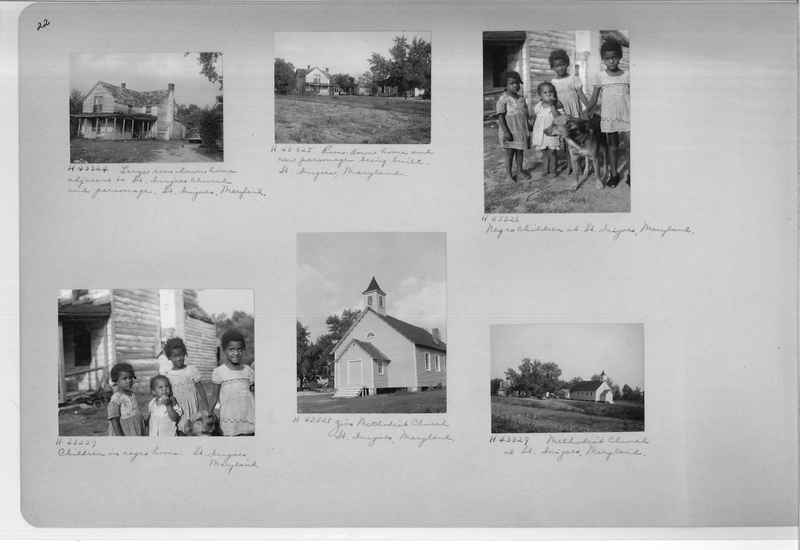 Mission Photograph Album - Negro #7 page 0022