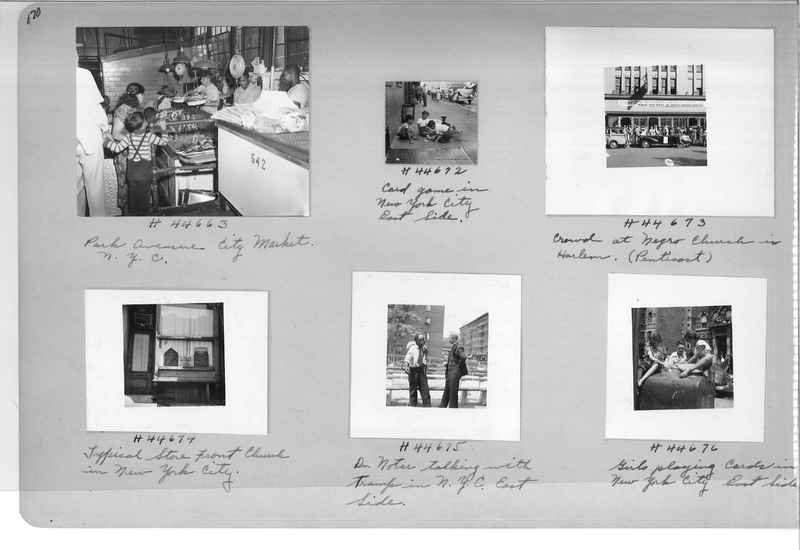 Mission Photograph Album - Cities #18 page 0170