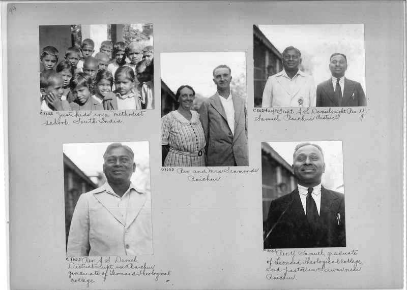 Mission Photograph Album - India #13 Page 0094