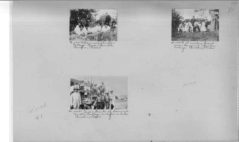 Mission Photograph Album - Negro #1 page 0081