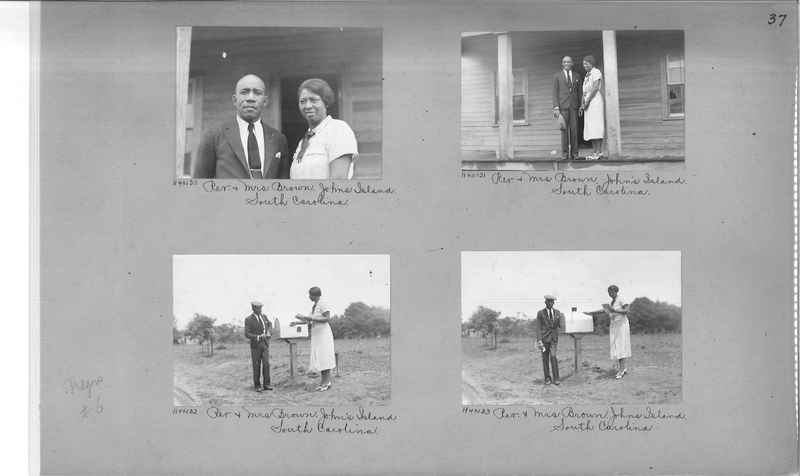 Mission Photograph Album - Negro #6 page 0037