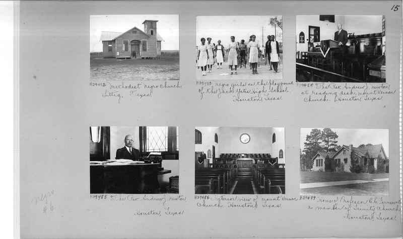 Mission Photograph Album - Negro #6 page 0015