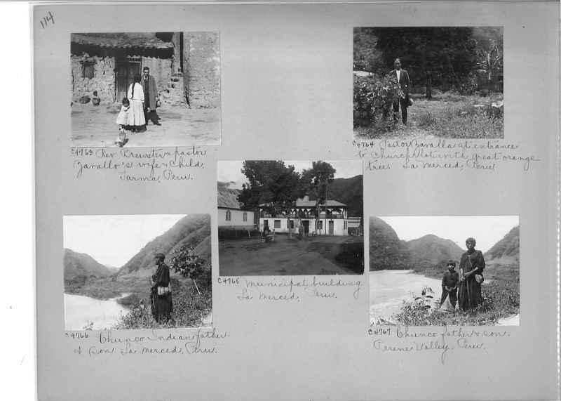 Misson Photograph Album - South America #8 page 0114