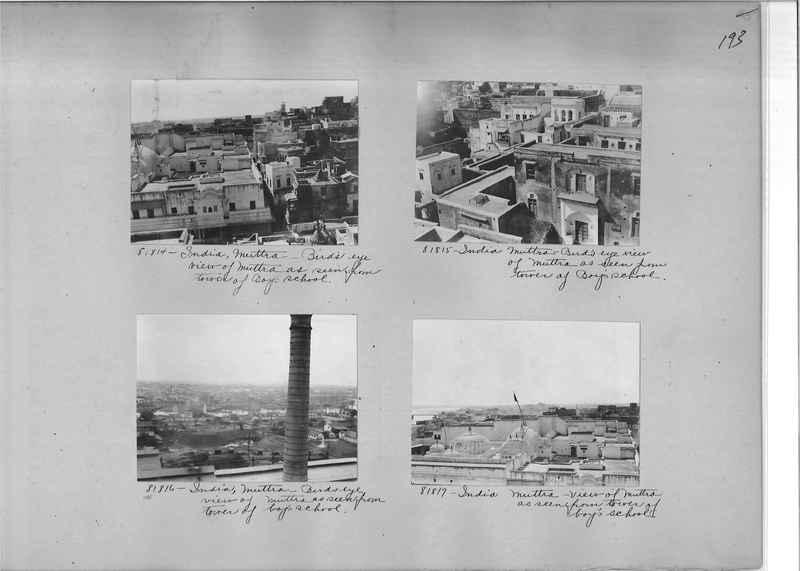 Mission Photograph Album - India #09 Page 0193
