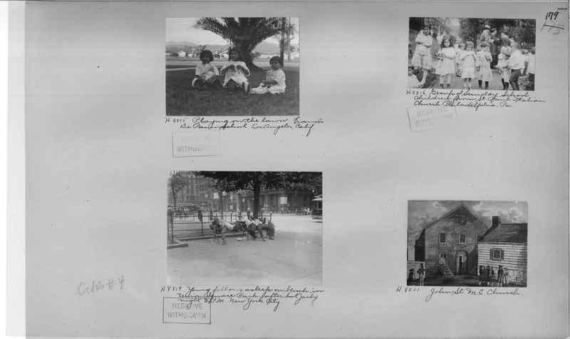 Mission Photograph Album - Cities #4 page 0179