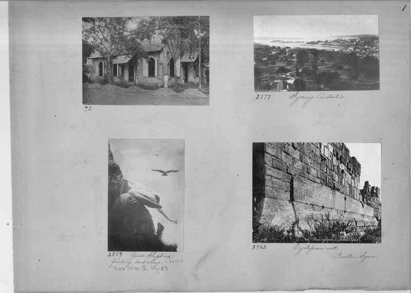 Mission Photograph Album - Miscellaneous #02 Page 0001