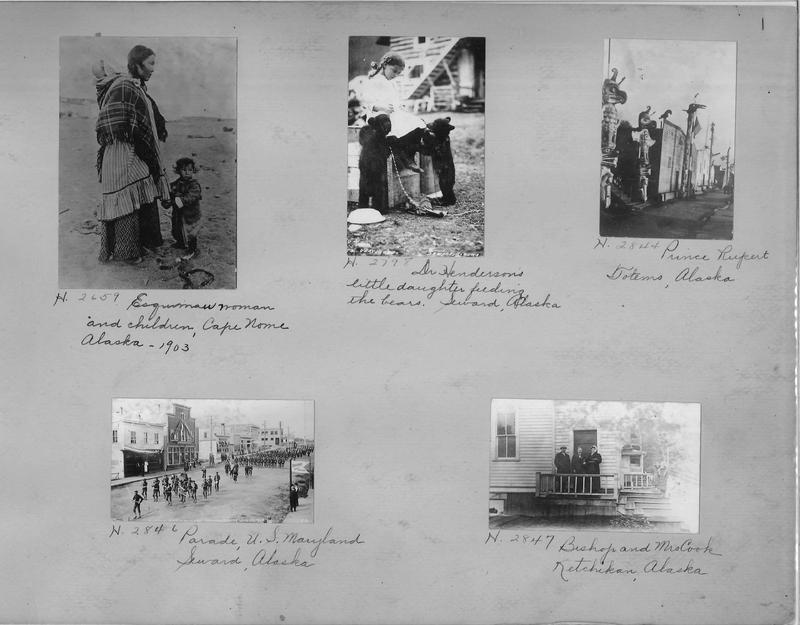 Mission Photograph Album - Alaska #1 page 0001