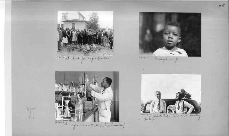 Mission Photograph Album - Negro #6 page 0045