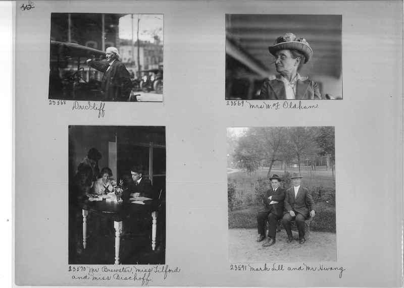 Mission Photograph Album - Portraits #1 page 0042