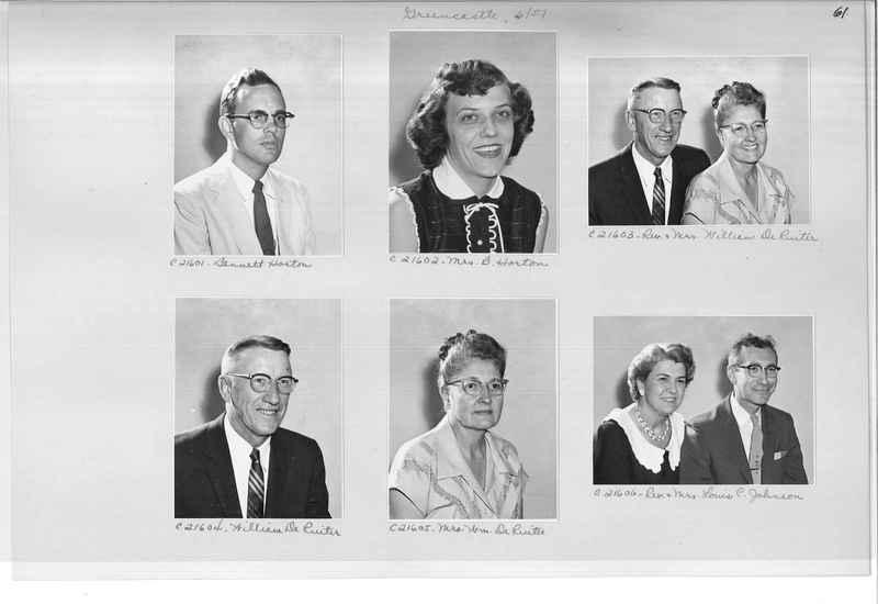 Mission Photograph Album - Portraits #10 Page 0061
