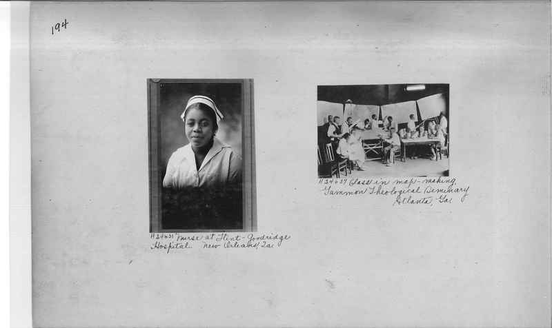 Mission Photograph Album - Negro #3 page 0194