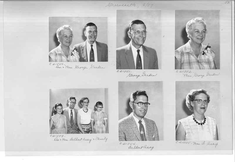 Mission Photograph Album - Portraits #10 Page 0053