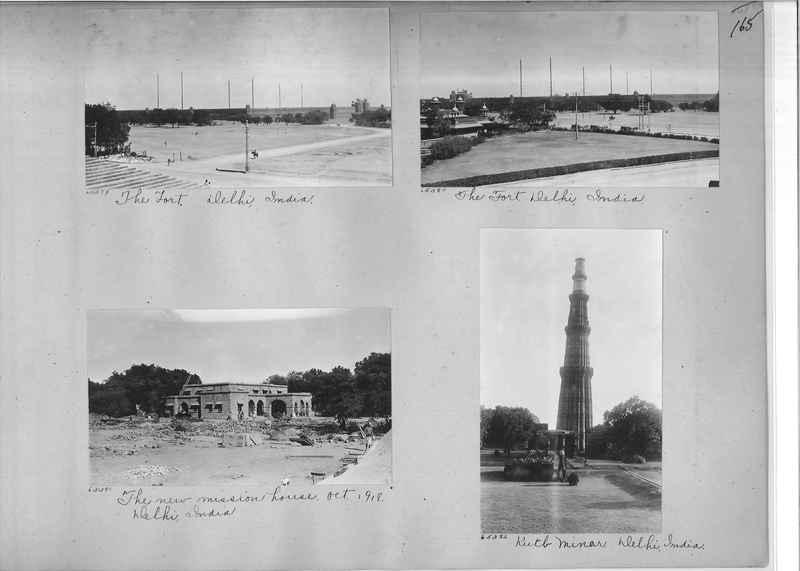 Mission Photograph Album - India #08 Page 0165