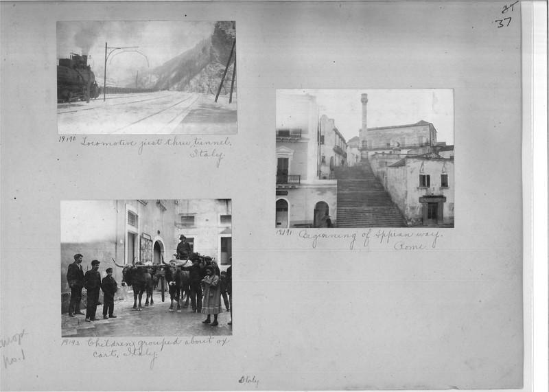 Mission Photograph Album - Europe #01 Page 0037