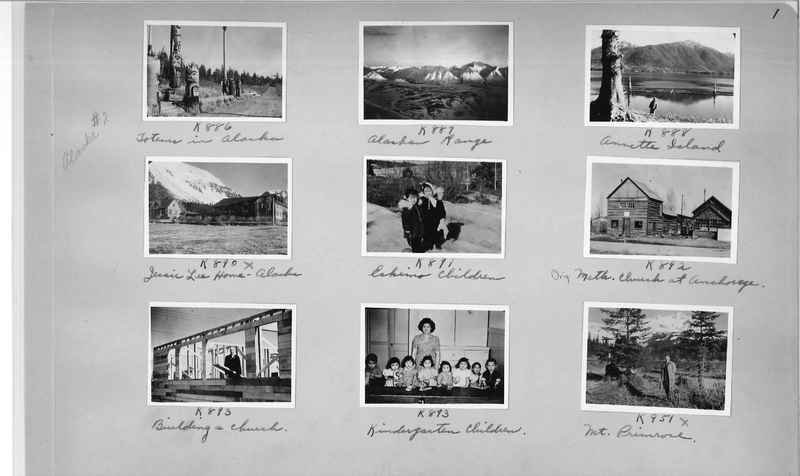 Mission Photograph Album - Alaska #2 page 0001