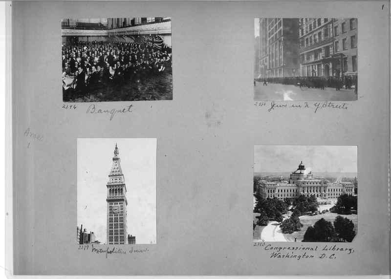 Mission Photograph Album - America #1 page 0001