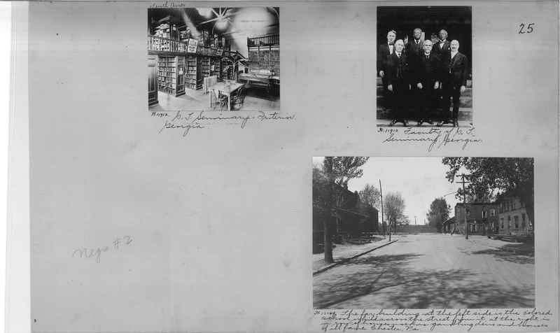 Mission Photograph Album - Negro #2 page 0025