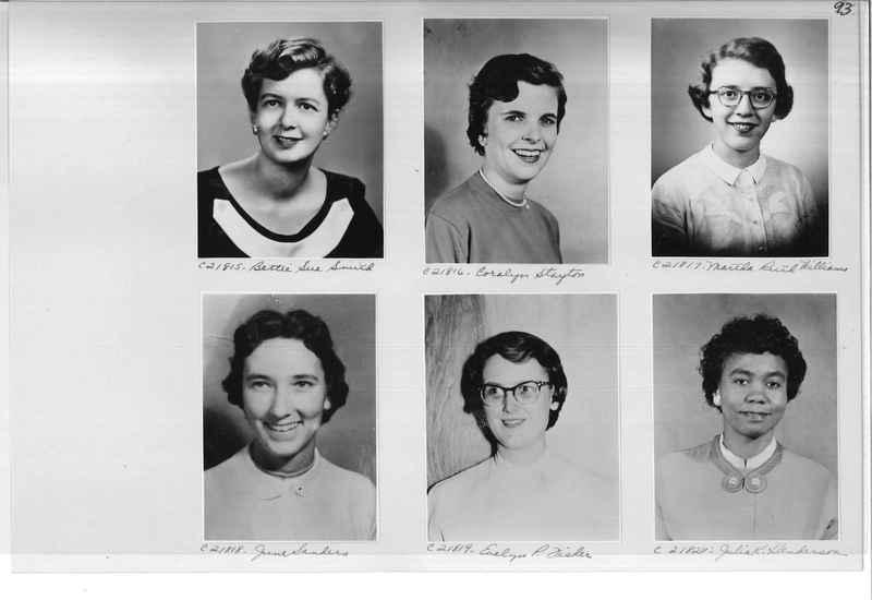 Mission Photograph Album - Portraits #10 Page 0093