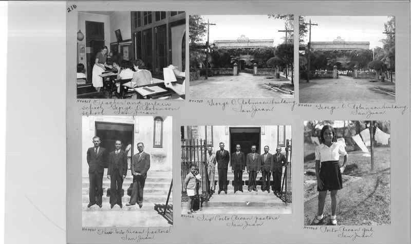 Mission Photograph Album - Puerto Rico #3 page 0216