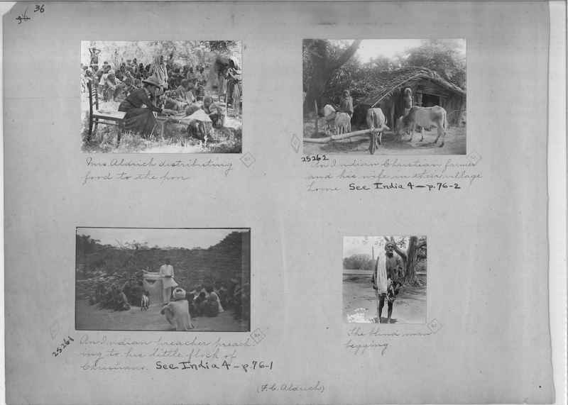 Mission Photograph Album - India - O.P. #01 Page 0036