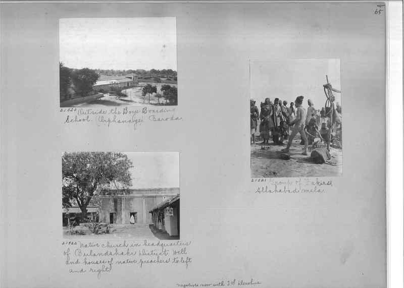 Mission Photograph Album - India #03 page_0065