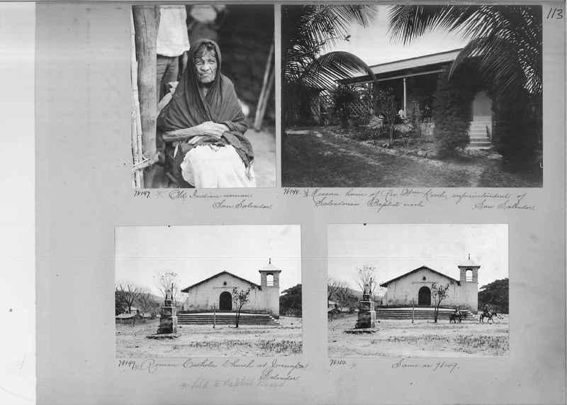 Mission Photograph Album - Panama #04 page 0113