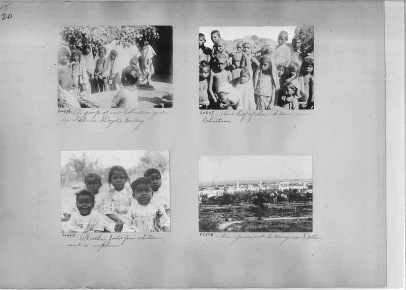 Mission Photograph Album - India #08 Page 0020