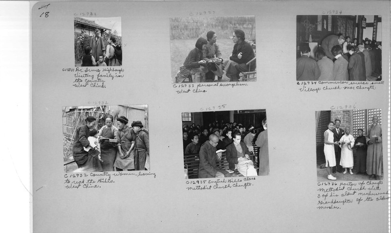 Mission Photograph Album - China #20 page 0018