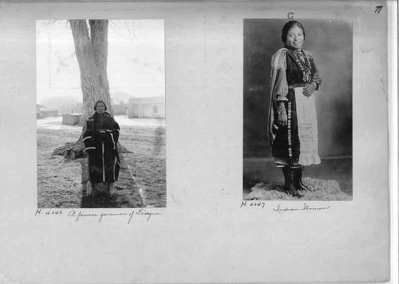 Mission Photograph Albums - Indians #1 page 0077
