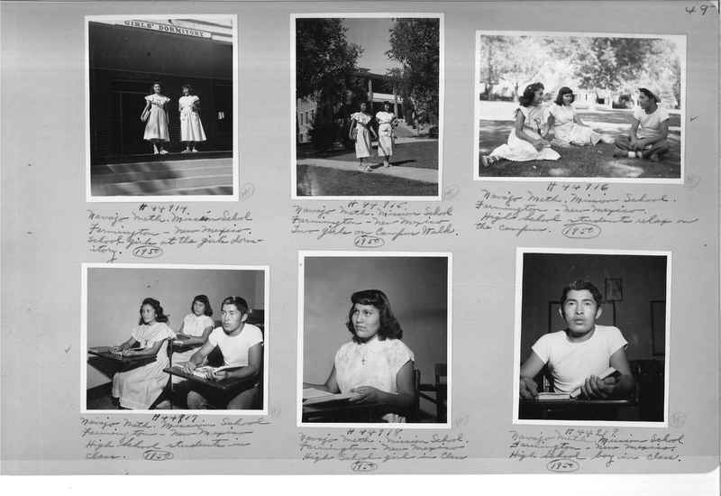 Mission Photograph Albums - Indians #3 Page_0049