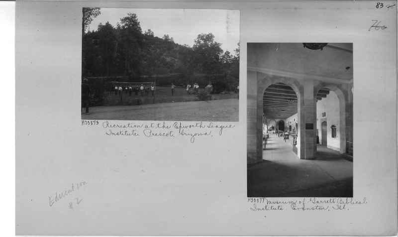 Mission Photograph Album - Education #2 page 0083