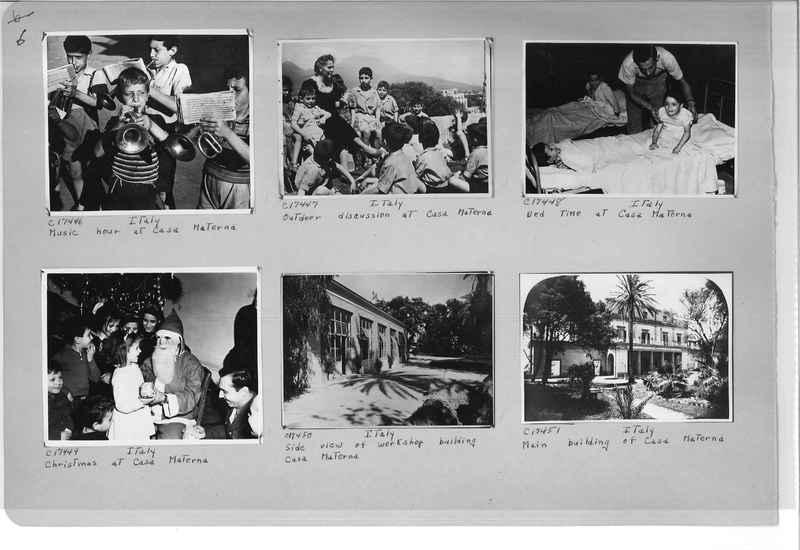 Mission Photograph Album - Europe #10 Page 0006
