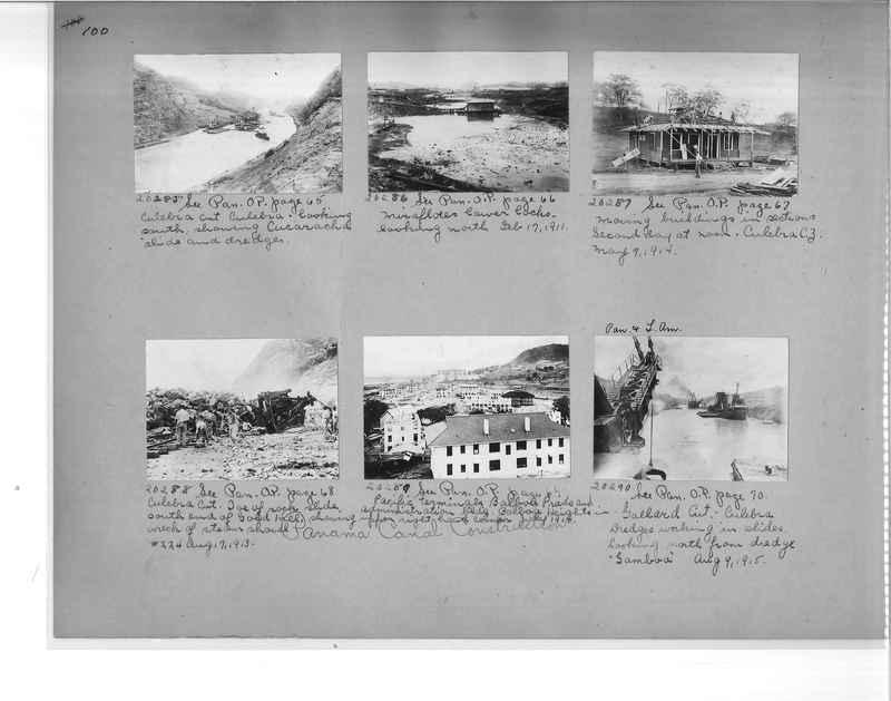 Mission Photograph Album - Panama #1 page  0100