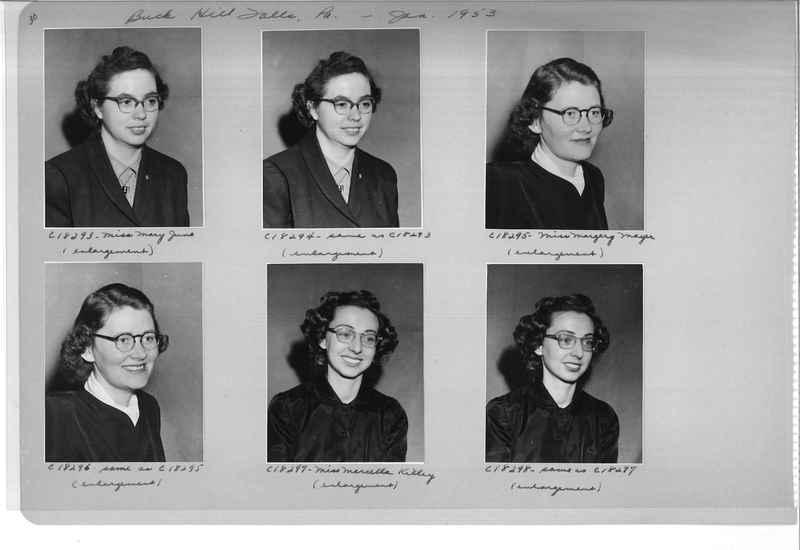 Mission Photograph Album - Portraits #08 Page 0030