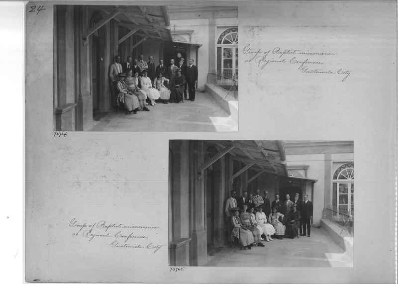 Mission Photograph Album - Panama #03 page 0024