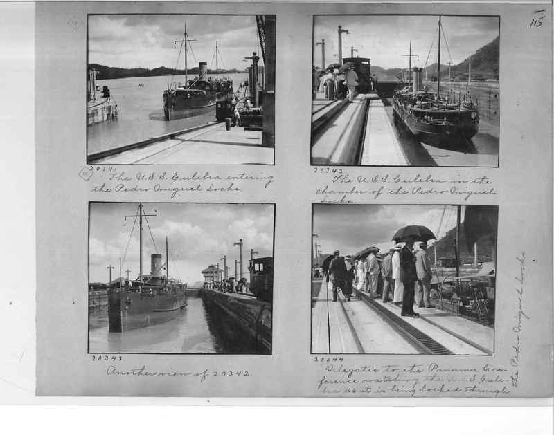 Mission Photograph Album - Panama #1 page  0115