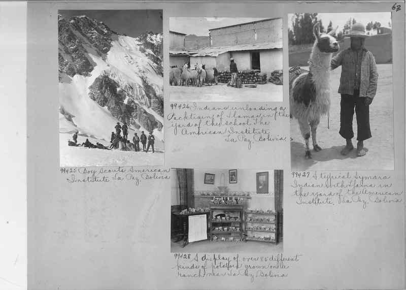 Misson Photograph Album - South America #8 page 0063
