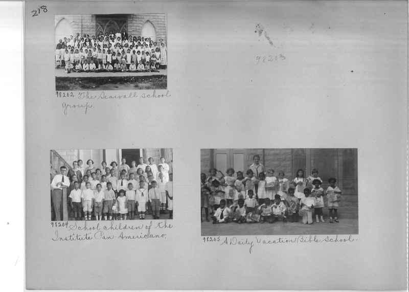 Mission Photograph Album - Panama #04 page 0218