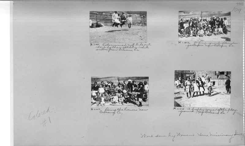 Mission Photograph Album - Negro #1 page 0109
