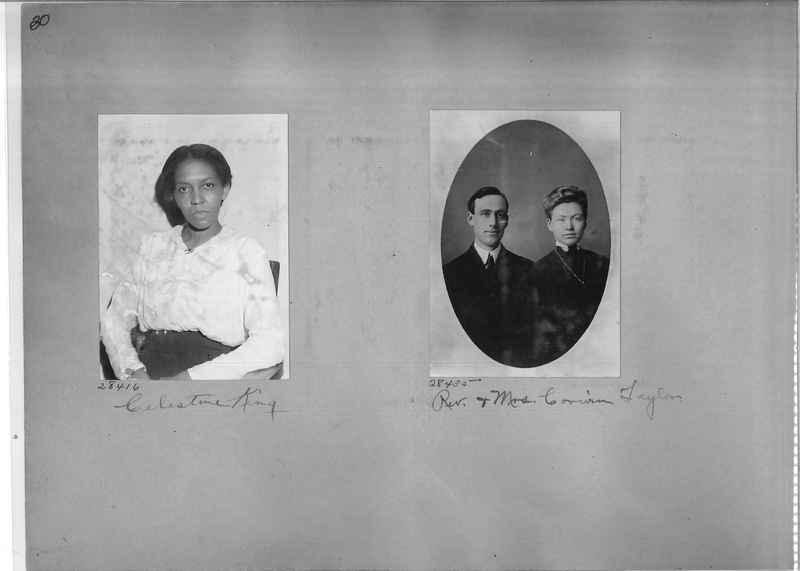 Mission Photograph Album - Portraits #2 page 0030