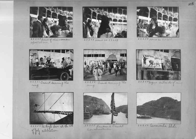 Mission Photograph Album - Panama #02 page 0023