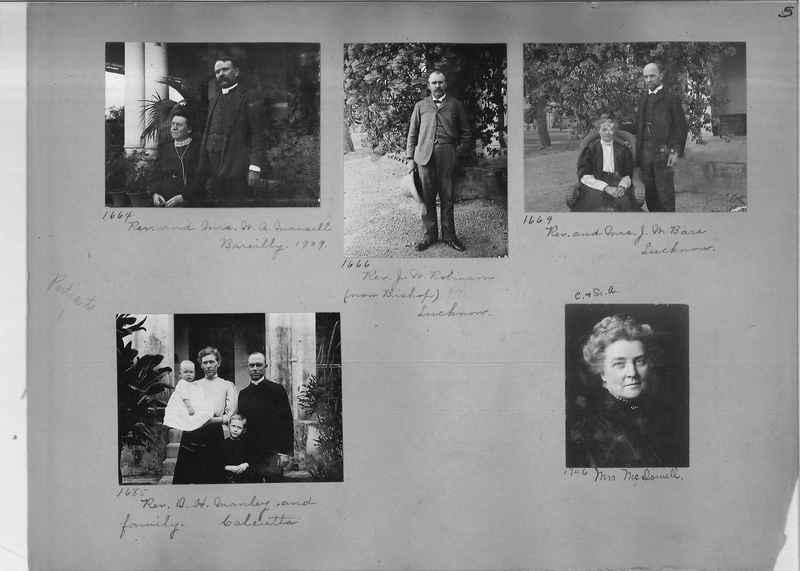 Mission Photograph Album - Portraits #1 page 0005